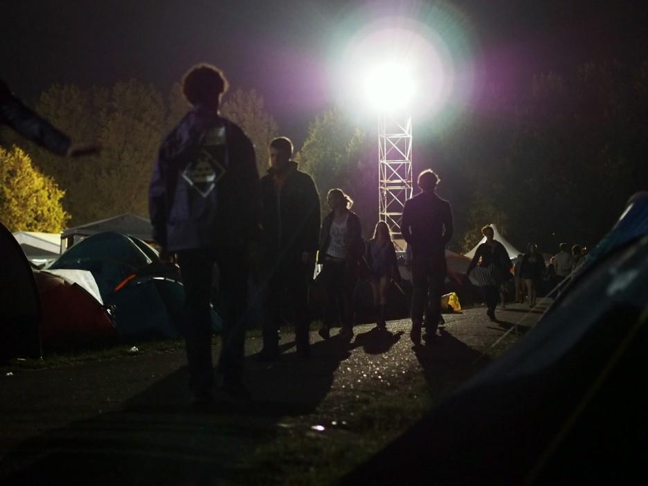 Frisse nachten op de camping