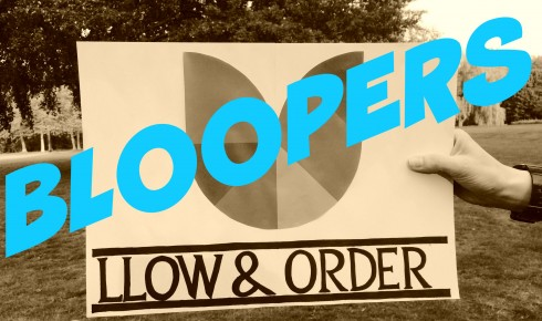 LLOW AND ORDER bloopers logo